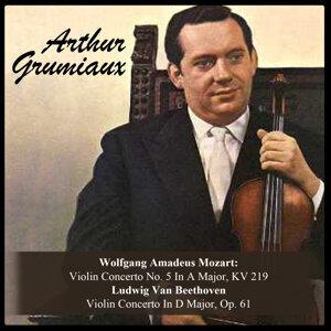 Wolfgang Amadeus Mozart: Violin Concerto No. 5 In A Major, KV 219 / Ludwig Van Beethoven: Violin Concerto In D Major, Op. 61