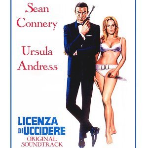 "Dr. No - Original Soundtrack Theme from"" Licenza di Uccidere """