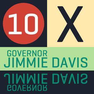 10 X Governor Jimmie Davis-EP