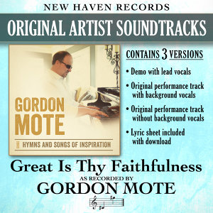 Great Is Thy Faithfulness (Performance Tracks)