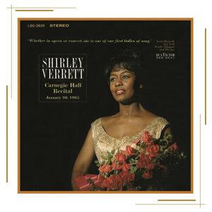 Shirley Verrett at Carnegie Hall, New York City, January 30, 1965