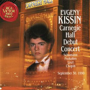 Evgeny Kissin at Carnegie Hall, New York City, September 30, 1990