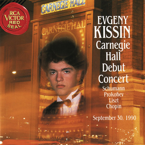 Evgeny Kissin at Carnegie Hall, New York City, September 30, 1990