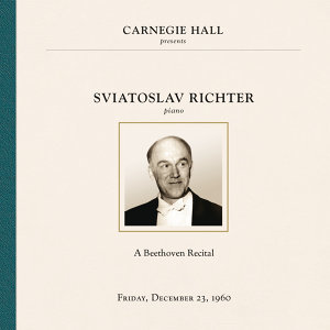 Sviatoslav Richter at Carnegie Hall, New York City, December 23, 1960