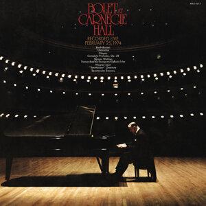 Jorge Bolet at Carnegie Hall, New York City, February 25, 1974 - Remastered