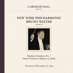 Bruno Walter at Carnegie Hall, New York City, December 23, 1954