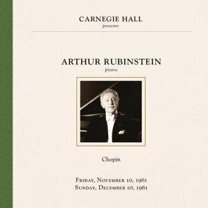 Arthur Rubinstein at Carnegie Hall New York City, November 10 & December 10, 1961