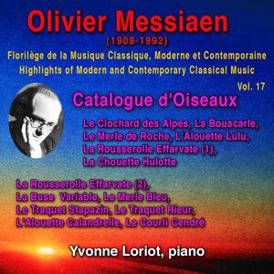 Olivier Messiaen - Florilège de la Musique Classique Moderne et Contemporaine -Highlights of Modern and Contemporary Classical Music - Vol. 17