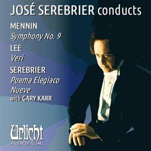José Serebrier Conducts Mennin • Serebrier • Lee