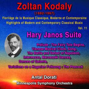 Zoltan Kodaly - Florilège de la Musique Classique Moderne et Contemporaine - Highlights of Modern and Contemporary Classical Music - Vol. 11