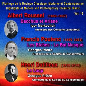 Albert Roussel, Francis Poulenc, Henri Dutilleux - Florilège de la Musique Classique Moderne et Contemporaine - Highlights of Modern and Contemporary Classical Music - Vol. 19