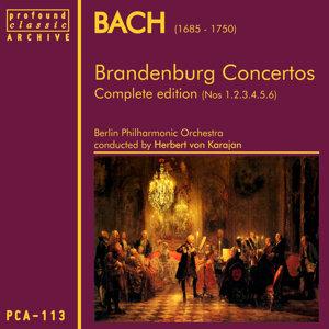 Bach: Brandenburg Concertos Nos 1,2,3,4,5 & 6