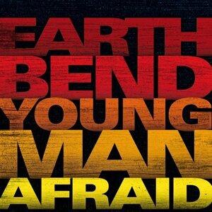 Young man afraid