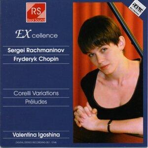 Sergei rachmaninoff : Corelli variations & préludes