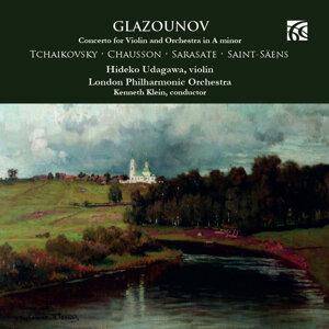 Glazounov, Tchaikovsky, Chausson, Sarasate & Saint-Säens: Music for Violin & Orchestra