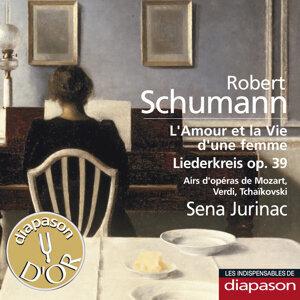 Schumann: L'amour et la vie d'une femme & Liederkreis Op. 39 - Mozart, Verdi & Tchaïkovsky:Airs d'opéras(Les indispensables de Diapason)