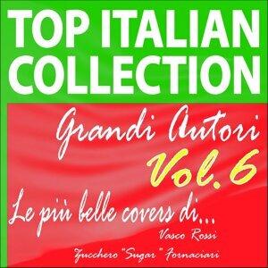 """Top italian collection grandi autori, vol.6 - Le più belle covers di vasco rossi e zucchero """"sugar"""" fornaciari"""