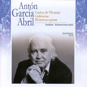 Antón García Abril: Cantos de Pleamar. Cadencias. Hemeroscopium