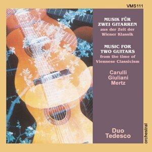 Musik für zwei Gitarren aus der Zeit der Wiener Klassik