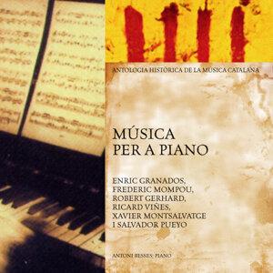 Música Per a Piano (Antologia Històrica de la Música Catalana)
