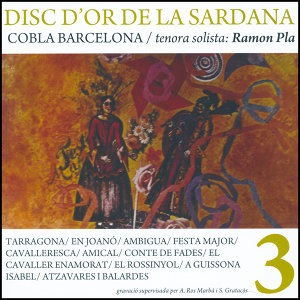 Disc D'or de la Sardana, Vol. 3