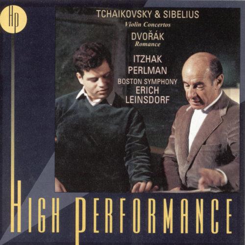 Tchaikovsky, Dvorák & Sibelius: Works for Violin & Orchestra