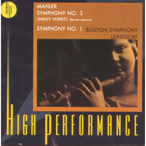 Mahler: Symphonies Nos. 3 & 1