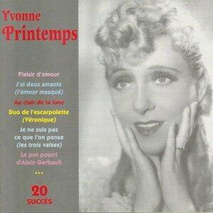 Yvonne Printemps - 20 succès