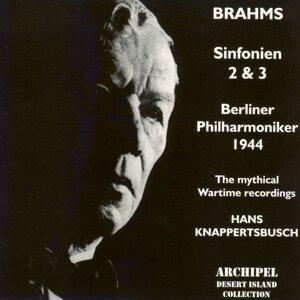 Brahms : Sinfonien No. 2 & No. 3 (1944)
