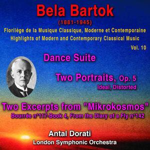 Bela Bartok - Florilège de la Musique Classique Moderne et Contemporaine - Highlights of Modern and Contemporary Classical Music - Vol. 10