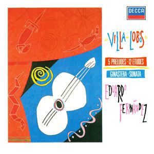 Villa-Lobos: 5 Preludes; 12 Estudos / Ginastera: Guitar Sonata