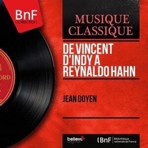De Vincent d'Indy à Reynaldo Hahn - Mono version