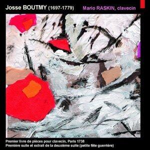 Boutmy: Premier livre de pièces de clavecin, Paris 1738