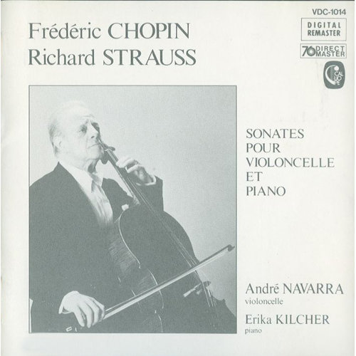 Chopin & Strauss: Cello Sonatas