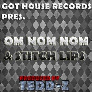 Om Nom Nom & Stitch Lips