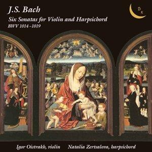 Bach: 6 Sonatas for Violin & Harpsichord, BWV 1014-1019