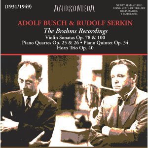 The Brahms Recordings (Recorded 1931-1949)
