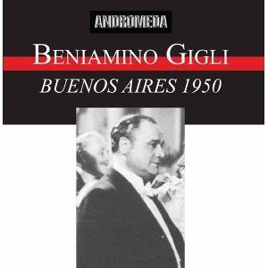 Beniamino Gigli (Buenos Aires 1950)