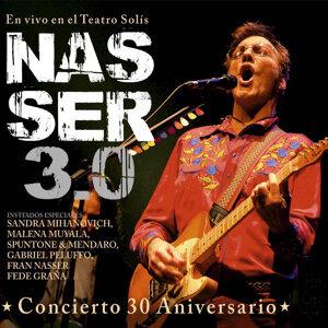 Nasser 3.0 en Vivo en el Teatro Solis