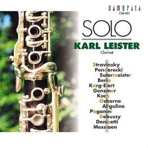 Karl Leister: Solo