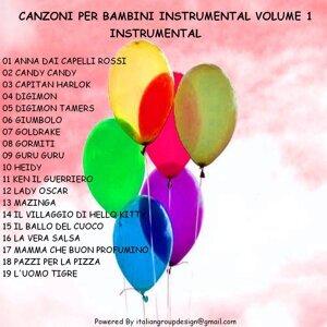 Canzoni per bambini instrumental, vol . 1