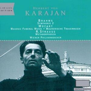 Karajan Edition - VPO / Brahms Sym 2 etc.
