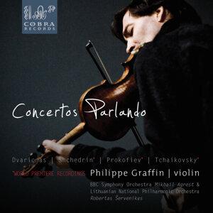 Concertos Parlando: Balys Dvarionas, Rodion Shchedrin, Sergej Prokofiev, Pyotr Ilyich Tchaikovsky, Eugène Ysaÿe