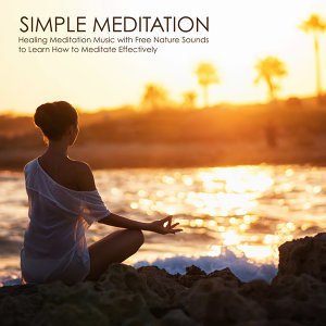 Simple Meditation - Healing Meditation Music with Free Nature Sounds to Learn How to Meditate Effectively