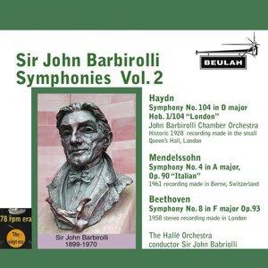 Sir John Barbirolli Symphonies, Vol. 2