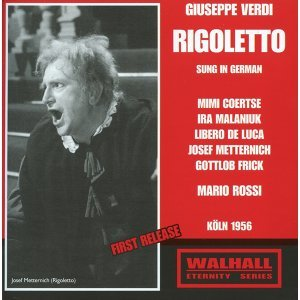 Verdi: Rigoletto (Sung in German) (1956)