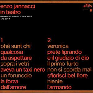 Enzo Jannacci in teatro - Dallo spettacolo 22 canzoni a cura di Dario Fo