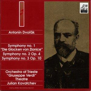 Antonín Dvorák : Symphonies 1-2-3
