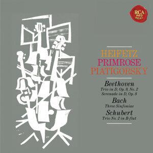 Heifetz, Primrose and Piatigorksy: The String Trio Collection - Heifetz Remastered