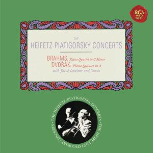 Brahms: Piano Quartet No. 3 in C Minor, Op. 60 - Dvorák: Piano Quintet No. 2 in A Major, Op. 81 - Heifetz Remastered